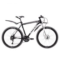 Велосипед 26 stark tactic 26.5 hd, 2017, цвет чёрно-серебристый, размер 20