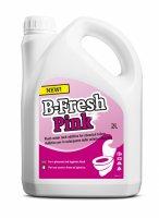 Жидкость для биотуалета b-fresh rinse (в верхний бак, розовая, объём 2л)