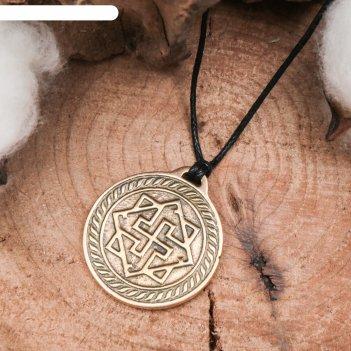 Славянский оберег из ювелирной бронзы валькирия мудрость, честь, справедли