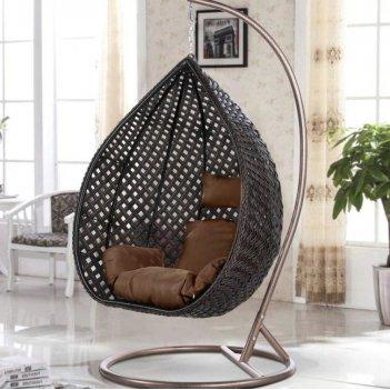 Подвесное кресло cocoon chair 250 xl brown, садовая мебель
