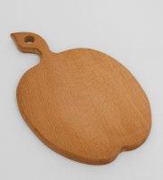 Доска разделочная яблоко 22,5х34,5см (бук)