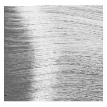 Крем-краска для волос kapous с гиалуроновой кислотой, 10.012 платиновый бл