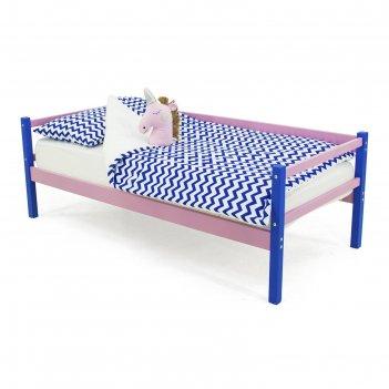 Детская кровать-тахта svogen синий-лаванда
