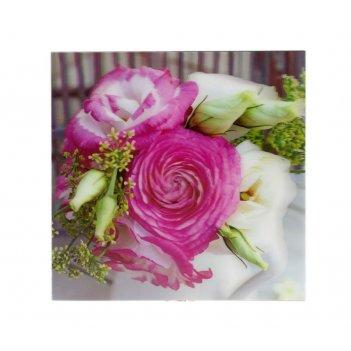 Постер 3d розы 30*30см