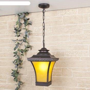 Светильник elektrostandard садово-парковый, 60 вт, e27, ip44, подвесной, l