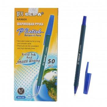 Ручка шариковая beifa аа 960а офис, синяя