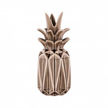 Ваза с крышкой ананас, высота=23 см. (кор=24шт.)