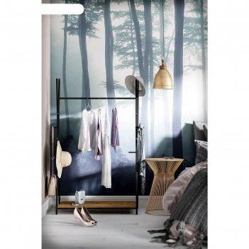 Вешалка гардеробная «фелтон», 1130 x 500 x 1160 мм, цвет дуб американский
