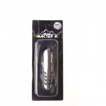 Нож швейцарский мастер к. 7в1 рукоять с насечками