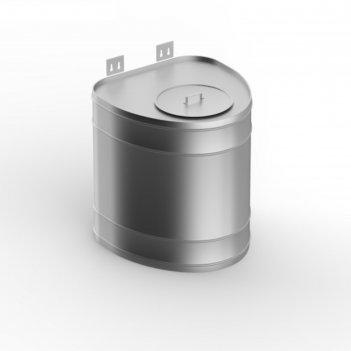 Бак для теплообменника 80 л, вертикальный, нержавейка 0.8 мм (штуцер 3/4)