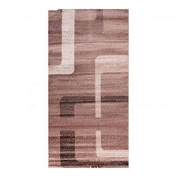 Прямоугольный ковёр omega hitset f579, 2 х 5 м, цвет bone-beige
