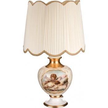Светильник настольный + абажур диаметр=55 см. высота=95 см. е27 (кор=1шт.)