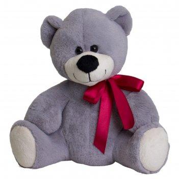 Мягкая игрушка медведь мишаня цвет серый 32 см 14-84-4