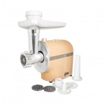 Мясорубка beon bn-2100, 2500 вт, 2 кг/мин, 3 решетки 3/5/7мм, насадка для