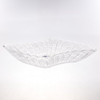 Фруктовница bohemia glasspo 45 см