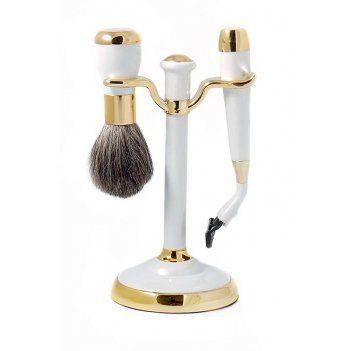 Набор для бритья mss 1622 per/g wpearl&gold (совместим с gillette mach-3)