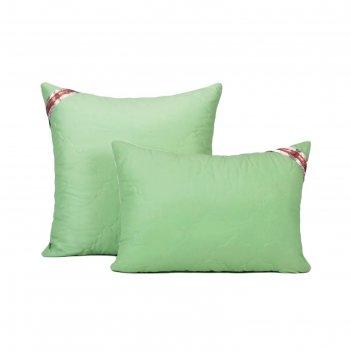 Подушка, размер 70 x 70 см, силиконизорованное волокно, холлофайбер