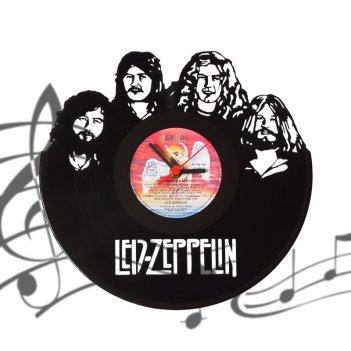Часы виниловая грампластинка   led zeppelin