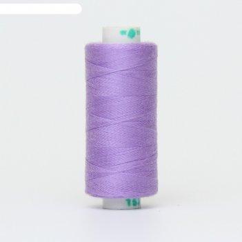 Нитка дор-так pl 40/2 400 ярд, цвет сиреневый 153 к09
