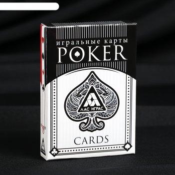 Игральные карты покерные 54 карт. 6.5х9х1,65см