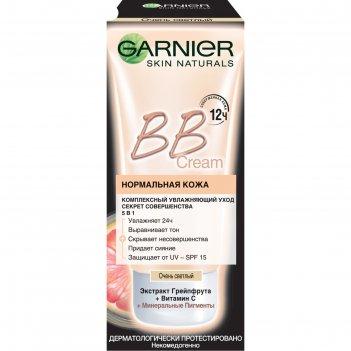 Bb крем garnier «секрет совершенства», очень светлый