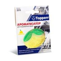 Ароматизатор topperr для посудомоечных машин, лимон, 1шт