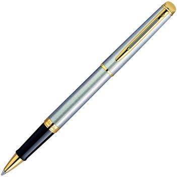 Роллерная ручка waterman hemisphere stainless steel ct.water