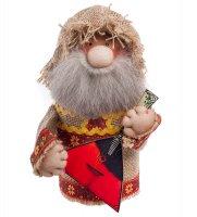 Кукла-шкатулка кузьмич с балалайкой