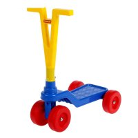 Детский четырёхколёсный самокат 56085 микс