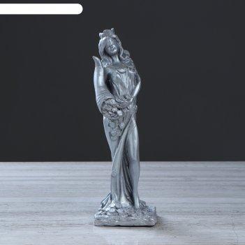 Статуэтка фортуна серебро