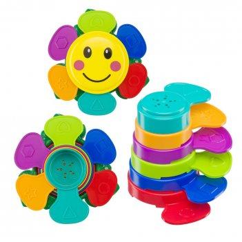 Набор игрушек для ванной flower puzzle