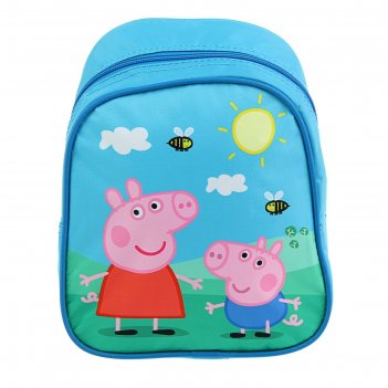 Рюкзачок малый свинка пеппа 23*19*8см 29314