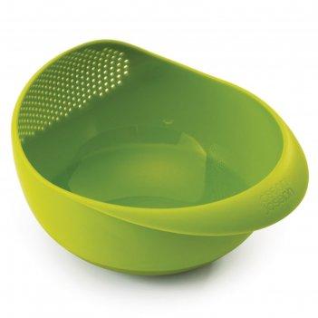 Миска-дуршлаг 2-в-1 joseph joseph prep&serve, большая, зелёная