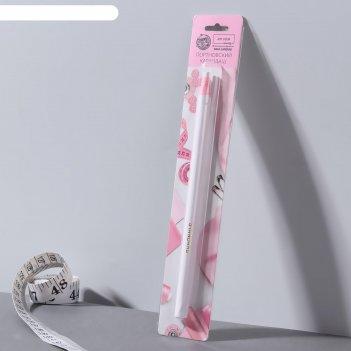 Карандаш для ткани, самозатачивающийся, 17 см, цвет белый