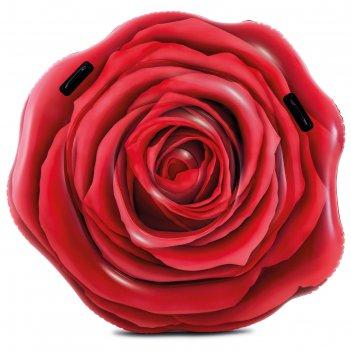 Матрас для плавания «роза», 137 х 132 см, 58783eu intex