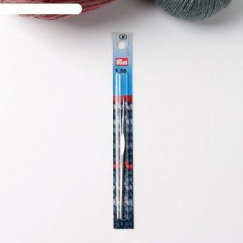 Крючок для вязания, для тонкой пряжи, c направляющей площадью, d = 1,5 мм,