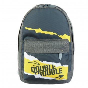 Рюкзак молодёжный с эргономичной спинкой, calligrata, 38 х 28 х 19, double