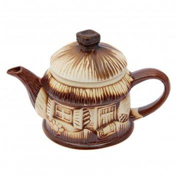 Чайник заварочный домик 1 л