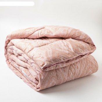 Одеяло  elegance line 140х 205 см, розовый, иск.лебяжий пух, пэ 350 гр/м2,