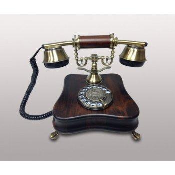 Телефон диск. (дерево)