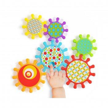 Набор развивающих игрушек happy baby mechanix, 9+ мес, 6 шт.