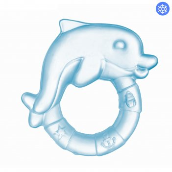 Прорезыватель охлаждающий «дельфин», от 0 мес., цвет микс