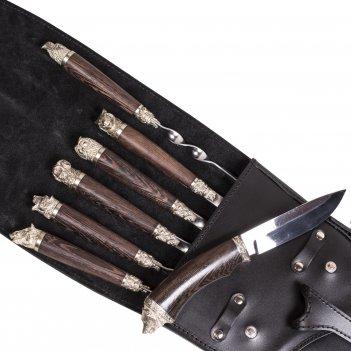 Шампурница подарочная «чехол ружья— кабан»