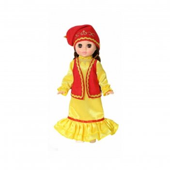 Кукла эля в татарском костюме 30,5 см в3206