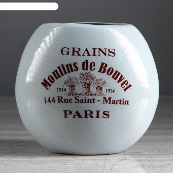 Ваза прованс moulins de bouvel, капля, 13 см, микс