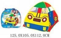 Палатка игровая машина 125*105*112 см, сумка