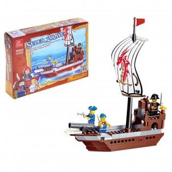 Конструктор пираты пиратский штурмовик, 167 деталей