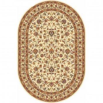 Овальный ковёр izmir 5471, 200 х 400 см, цвет cream