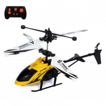 Вертолет радиоуправляемый покоритель небес, работает от батареек микс