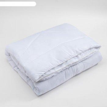 Одеяло этель лебяжий пух 172х205 ткань чехла 100% пэ, сумка (одноиг. стежк